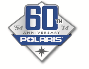 POST 12-27 Polaris 60th logo