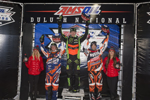 Pro Open podium (L to R)  Kamm 2nd, Hibbert 1st, Pallin 3rd